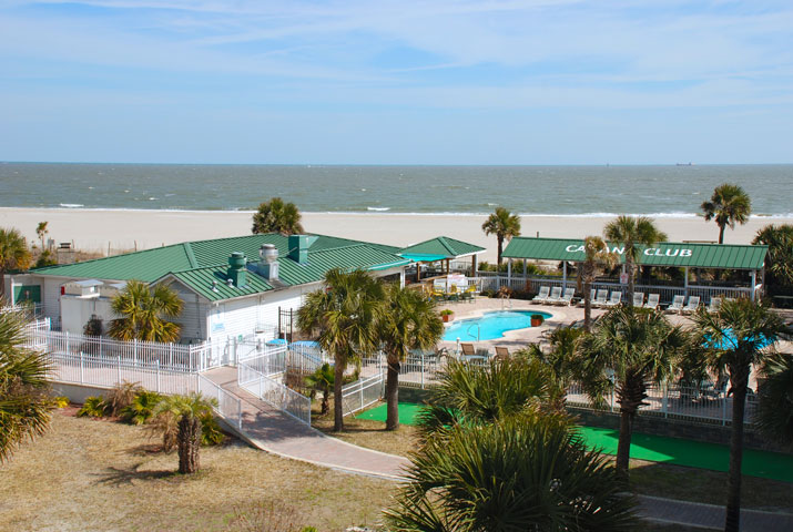 Tybee Island Resorts Amp Complexes Oceanfront Cottage