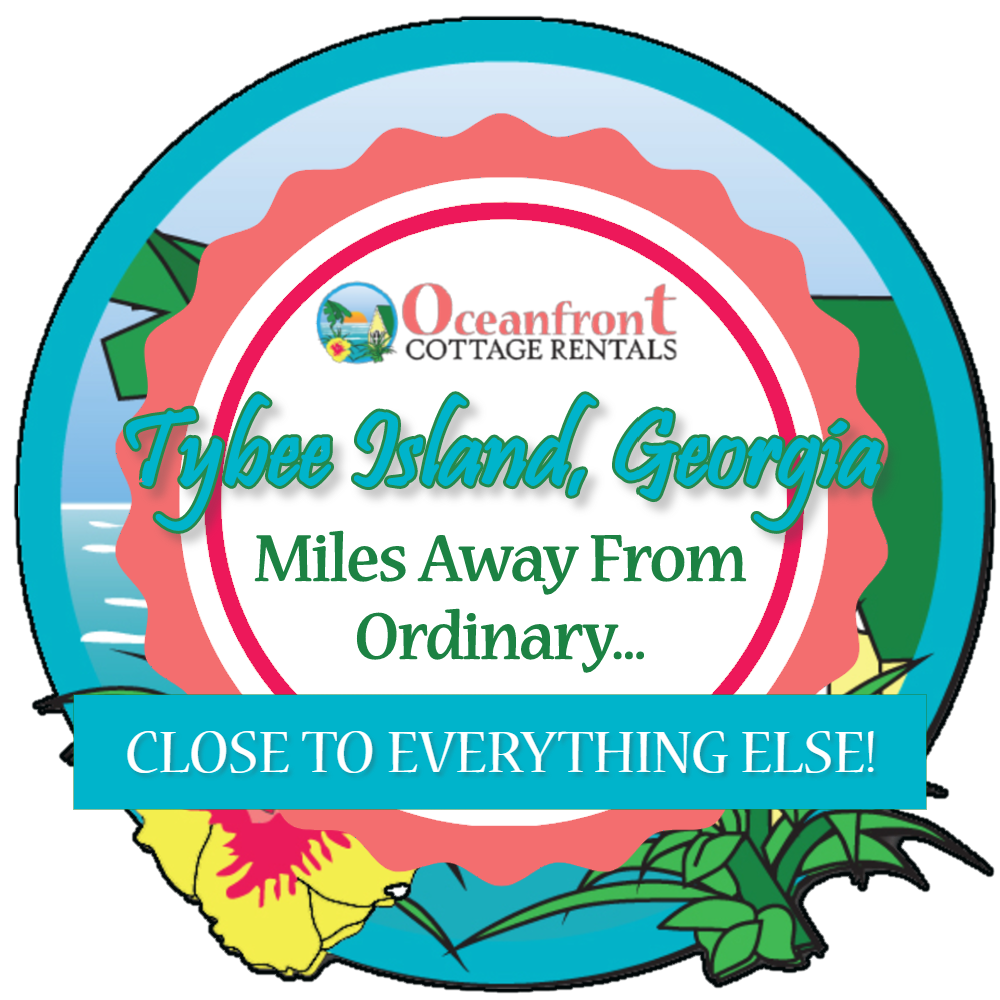 Tybee Island GA Miles Away from Ordinary Close to Everything Else Logo